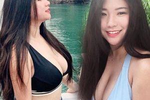 Cô gái Malaysia sở hữu vòng một bốc lửa hơn 100cm