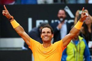 Vô địch Rome Masters 2019, Nadal lập nhiều kỷ lục mới