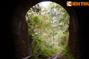 Bên trong đường hầm khổng lồ đầy ma mị ở Đà Lạt