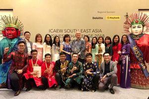SV Việt Nam đạt giải nhì cuộc thi tìm kiếm 100 gương mặt SV xuất sắc Đông Nam Á do ICAEW tổ chức