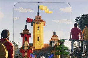 Minecraft Earth giúp xây dựng các tòa nhà trong AR