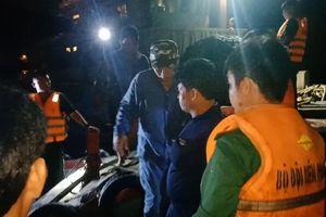 Kịp thời cứu nạn 9 ngư dân bị nạn trên biển Vũng Tàu