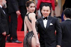 Ngọc Trinh bị 'ném đá' dữ dội vì 'mặc như khoe thân' tại Cannes