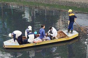 Chuyên gia vẫn hoài nghi về công nghệ xử lý ô nhiễm sông Tô Lịch