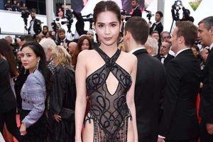 Ngọc Trinh bị chê ăn mặc lố lăng, phản cảm tại LHP Cannes 2019