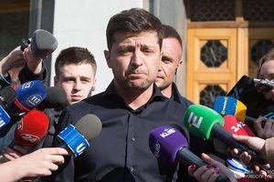 'Hé lộ' chương trình Lễ nhậm chức, lời thề của Tổng thống đắc cử Ukraine Zelensky