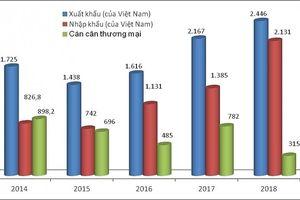 Thương mại Việt- Nga: Xuất tăng, nhập giảm
