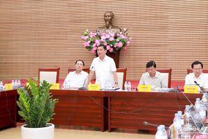 Chủ tịch UBND tỉnh Thái Thanh Quý yêu cầu tăng cường kiểm tra, xử lý dự án chậm tiến độ