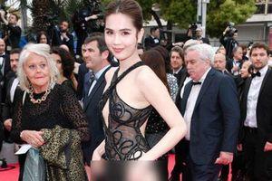 Bị chỉ trích vì mặc phản cảm ở Cannes, Ngọc Trinh đáp trả: 'Tôi là nữ hoàng nội y, mặc vậy là bình thường'