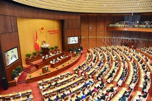 Sáng nay, Quốc hội họp phiên trù bị trước khai mạc kỳ họp thứ 7