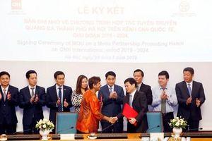 Tăng hợp tác quảng bá hình ảnh Thủ đô Hà Nội trên kênh CNN