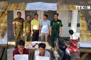 Thu giữ 120.000 viên ma túy chuẩn bị tuồn vào Việt Nam