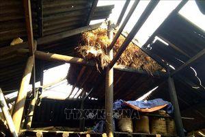 Mưa đá, lốc xoáy bất ngờ tại Kỳ Sơn và Quế Phong, Nghệ An
