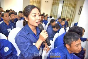 Công nhân Nguyễn Thị Ngọc Giang – Người nối dài những tuyến phố 'nở hoa'