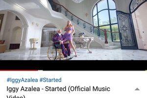 Lượt xem MV 'Started' tăng đột biến, con đường cho album comeback của Iggy Azalea rộng mở?