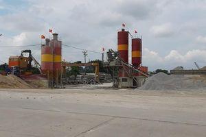 Ý Yên- Nam Định: Nhiều trạm trộn bê tông chưa đủ pháp lý vô tư đầu độc môi trường