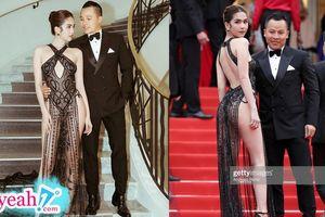 Ngọc Trinh lên tiếng khi bị 'ném đá' vì mặc như không trên thảm đỏ Cannes 2019: 'Trinh thấy hợp với mình là được'