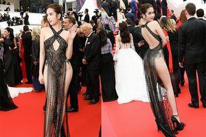 Ngọc Trinh trên thảm đỏ Cannes 2019 khiến cộng đồng mạng ngao ngán : Ăn mặc sexy hết cỡ vẫn bị truyền thông quốc tế ngó lơ?