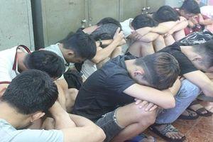 24 người dương tính với ma túy tại quán karaoke ở Đồng Nai