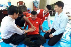 Hội Chữ thập đỏ tỉnh Lâm Đồng tổ chức tập huấn sơ cấp cứu