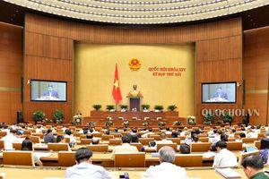 Trình Quốc hội phê chuẩn quyết toán ngân sách nhà nước năm 2017