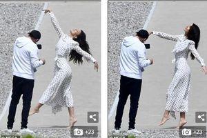 Tình trẻ Leonardo DiCaprio đi chân trần, vô tư nhảy múa ngay trên phố
