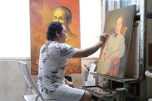 Gặp Họa sĩ vẽ hơn 2.000 bức chân dung Bác Hồ
