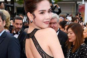 Toàn bộ hình ảnh Ngọc Trinh ở Cannes với bộ cánh 'có như không' bị truyền thông quốc tế đăng tải, nhưng những ánh mắt ái ngại mới đáng chú ý