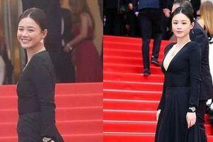 Sao nữ Trung Quốc bị chê bóp eo, nâng ngực quá đà trong ảnh ở Cannes