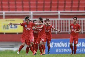 Lịch thi đấu giải bóng đá nữ Cúp Quốc gia 2019