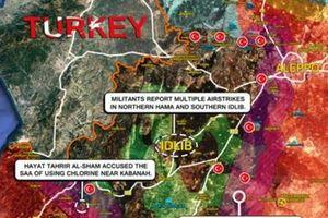Phiến quân Hama bất lực, không quân Nga giáng đòn thù