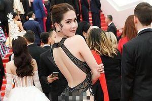 Ngọc Trinh đến Cannes theo lời mời đại diện nhà tài trợ chính?