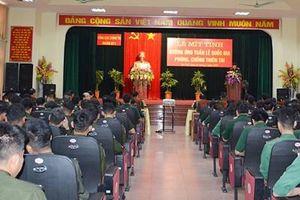 Đoàn 871 hưởng ứng Tuần lễ Quốc gia phòng, chống thiên tai