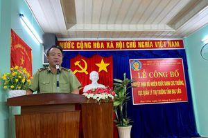 Ông Nguyễn Minh Trung chính thức giữ chức Cục trưởng Cục QLTT Bạc Liêu