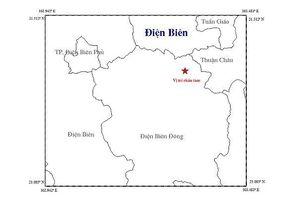 Lại động đất ở Điện Biên