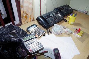 Cảnh sát đột kích nhiều tụ điểm đánh bạc, bắt giữ hơn 30 đối tượng