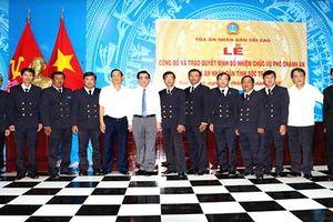 Trao quyết định bổ nhiệm Phó Chánh án TAND tỉnh Sóc Trăng