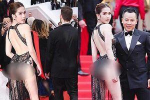 Bị chỉ trích 'mặc như không mặc' trên thảm đỏ, 2 chị em Ngọc Trinh lên tiếng đáp trả