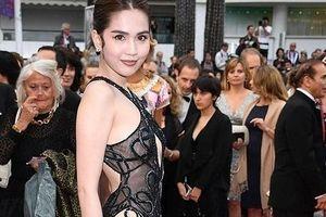 Ngọc Trinh khoe thân tại liên hoan phim Cannes: Lố vì đi quá xa!