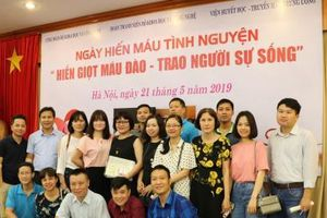 Cán bộ, đoàn viên thanh niên Bộ KH&CN tích cực tham gia hiến máu nhân đạo