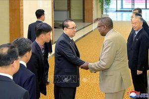 Đoàn đại biểu cấp cao Triều Tiên thăm Cuba
