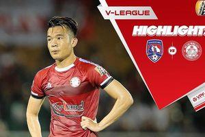 Vòng 10 V.League 2019: TP.HCM duy trì ngôi đầu, 5 đội cuối đều hòa