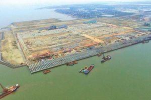 Đề xuất 1.000 tỷ đồng làm đường kết nối sau cảng Lạch Huyện
