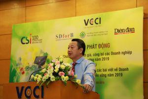 Phát động Chương trình đánh giá Doanh nghiệp bền vững tại Việt Nam năm 2019