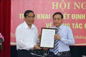 Bổ nhiệm ông Nguyễn Thanh Hải giữ chức Phó Ban Nội chính Trung ương
