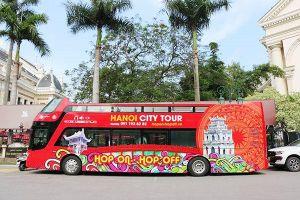350.000 đồng/vé xe buýt hai tầng, mui trần dạo chơi TPHCM