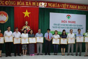 Thừa Thiên - Huế: Tổng kết 10 năm thực hiện 'Người Việt Nam ưu tiên dùng hàng Việt Nam'