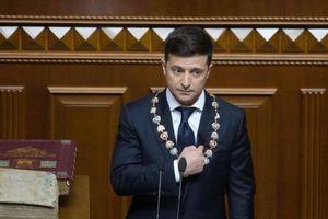 Ông Zelenskiy nói gì trong lễ nhậm chức tổng thống Ukraine?