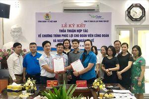 Công đoàn Y tế Việt Nam ký kết chương trình phúc lợi đoàn viên