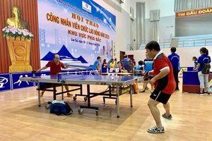 Gần 400 vận động viên Hội thao CNVC Tập đoàn Hóa chất Việt Nam